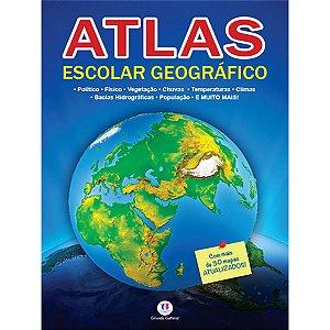 Livro Atlas Geografico Escolar 32Pg. Ciranda