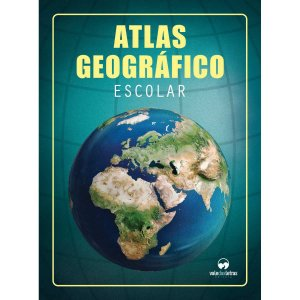 Livro Atlas Geografico Escolar 32Pgs Vale Das Letras