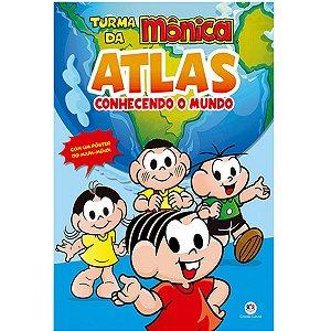 Livro Atlas Turma Da Monica 16Pgs Ciranda
