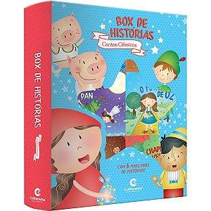 Livro Brinquedo Ilustrado Contos Classicos Box Hist.c/6 Culturama