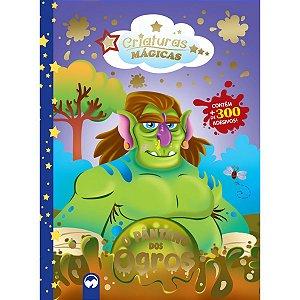 Livro Brinquedo Ilustrado Criaturas Magicas O Pantano Do Vale Das Letras