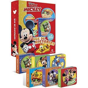 Livro Brinquedo Ilustrado Mickey Box Historias C/6 Culturama