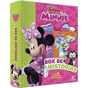 Livro Brinquedo Ilustrado Minnie Box Historias C/6 Culturama