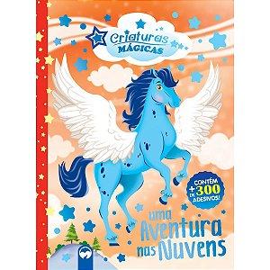 Livro Brinquedo Ilustrado Reino Das Nuvens Pegasus Adesi Vale Das Letras
