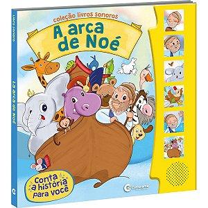 Livro Brinquedo Ilustrado Sonoro Arca De Noe Culturama