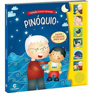 Livro Brinquedo Ilustrado Sonoro Pinoquio Culturama