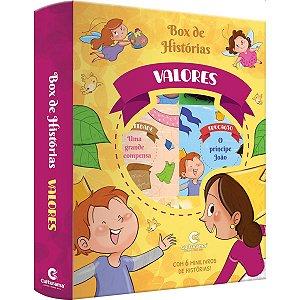 Livro Brinquedo Ilustrado Valores Box Historias C/6 Culturama