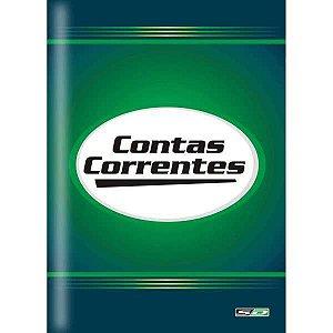 Livro Conta Corrente 1/4 50 Folhas Sao Domingos