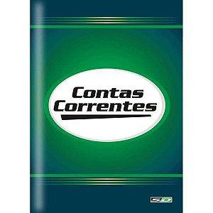 Livro Conta Corrente Oficio 100 Folhas Sao Domingos