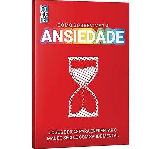 Livro Coquetel Ansiedade Jogo P/combater Ediouro
