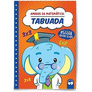 Livro Ensino Amigos Da Matematica Tabuada Vale Das Letras