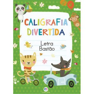 Livro Ensino Caligrafia Divertida/alfab/let Ciranda