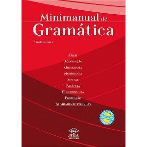 Livro Ensino Mini Manual De Gramatica 384Pg Dcl