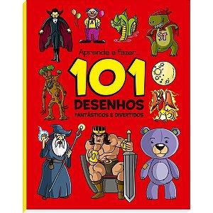 Livro Infantil Colorir 101 Desenhos Fantasticos E Div Vale Das Letras