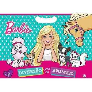 Livro Infantil Colorir Barbie C/50 Adesivos 48Pag Ciranda