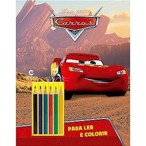 Livro Infantil Colorir Carros Ler E Colorir Com Lapis Culturama