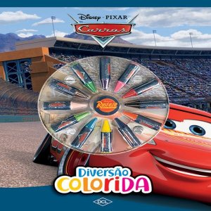 Livro Infantil Colorir Cars 3 Aquarela Dcl
