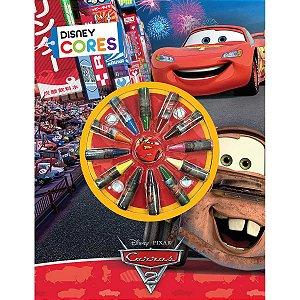 Livro Infantil Colorir Cars Cores Dcl