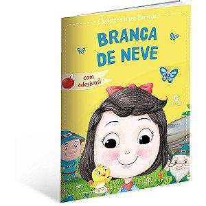 Livro Infantil Colorir Classicos Branca De Neve Culturama