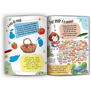 Livro Infantil Colorir Classicos Chapeuzinho Vermelho Culturama