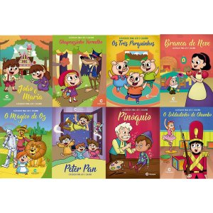 Livro Infantil Colorir Classicos Ler E Colorir 16Pgs Culturama