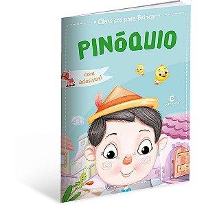 Livro Infantil Colorir Classicos Pinoquio Culturama