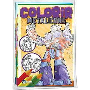 Livro Infantil Colorir Diversos Temas Bicho Esperto