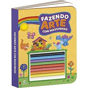 Livro Infantil Colorir Fazendo Arte C/massinhas Sort. Culturama