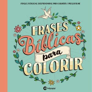 Livro Infantil Colorir Frases Biblicas P/colorir Culturama
