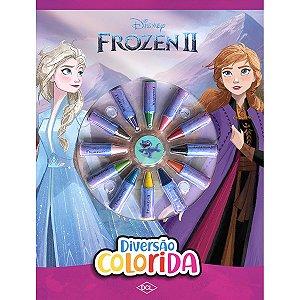 Livro Infantil Colorir Frozen 2 Cores Dcl