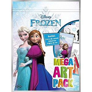 Livro Infantil Colorir Frozen Mega Art Pack Dcl