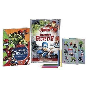 Livro Infantil Colorir Marvel Atividades Secretas Culturama