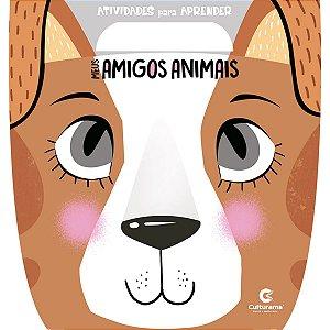 Livro Infantil Colorir Meus Amigos Animais Atividades Culturama
