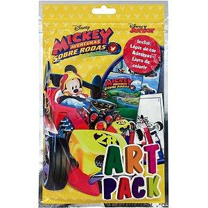 Livro Infantil Colorir Mickey Art Pack C/ades/lapis Dcl