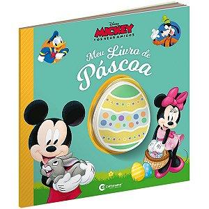Livro Infantil Colorir Mickey Meu Livro De Pascoa Culturama