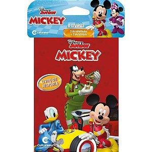 Livro Infantil Colorir Mickey Minilivros 8Pg Culturama
