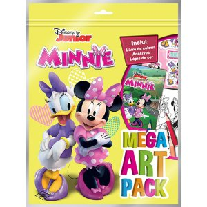Livro Infantil Colorir Minnie Super Color Pack Dcl