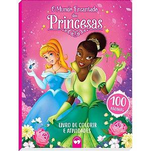 Livro Infantil Colorir Mundo Das Princesas Vale Das Letras
