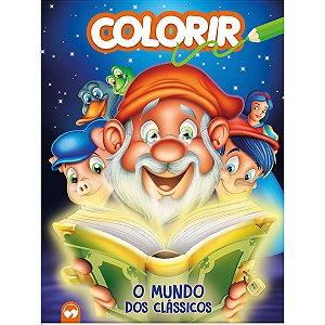 Livro Infantil Colorir O Mundo Dos Classicos 16Pgs Vale Das Letras