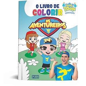Livro Infantil Colorir Os Aventureiros Universo Incri Ediouro