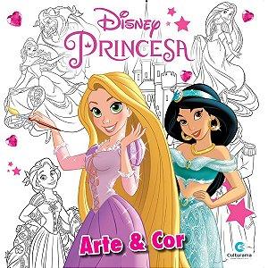 Livro Infantil Colorir Princesas Disney Arte E Cor Culturama