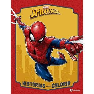Livro Infantil Colorir Spider-Man Historias P/colorir Culturama