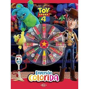 Livro Infantil Colorir Toy Story 4 Diversao Colorida Dcl