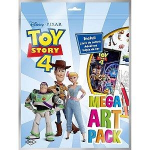 Livro Infantil Colorir Toy Story 4 Mega Art Pack Dcl