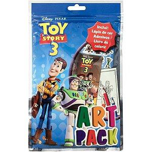 Livro Infantil Colorir Toy Story4 Art Pack C/ades/lap Dcl