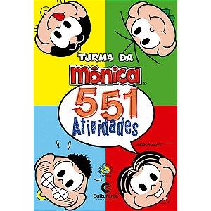Livro Infantil Colorir Turma Da Monica 551 Atividades Culturama