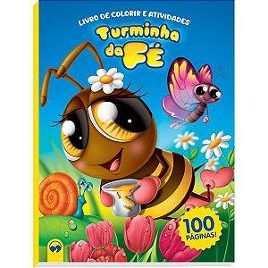 Livro Infantil Colorir Turminha Da Fe 100P Atividades Vale Das Letras