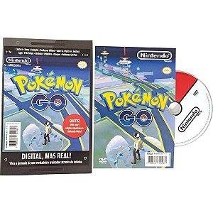 Livro Infantil Com Cd Ou Dvd Pokemon Go Revista+Dvd Pagina Editora