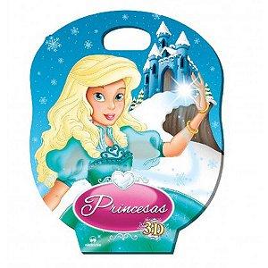Livro Infantil Com Cd Ou Dvd Princesas 8Vol+ Jogos Vale Das Letras