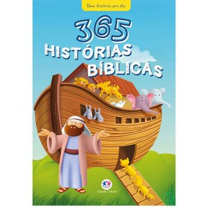 Livro Infantil Ilustrado 365 Historias Biblicas Ciranda